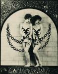 Ada Mae Vaughn posing with sister Alberta