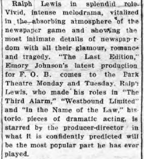Medina, New York, Medina Daily Journal, 1st Jan 1926 Review